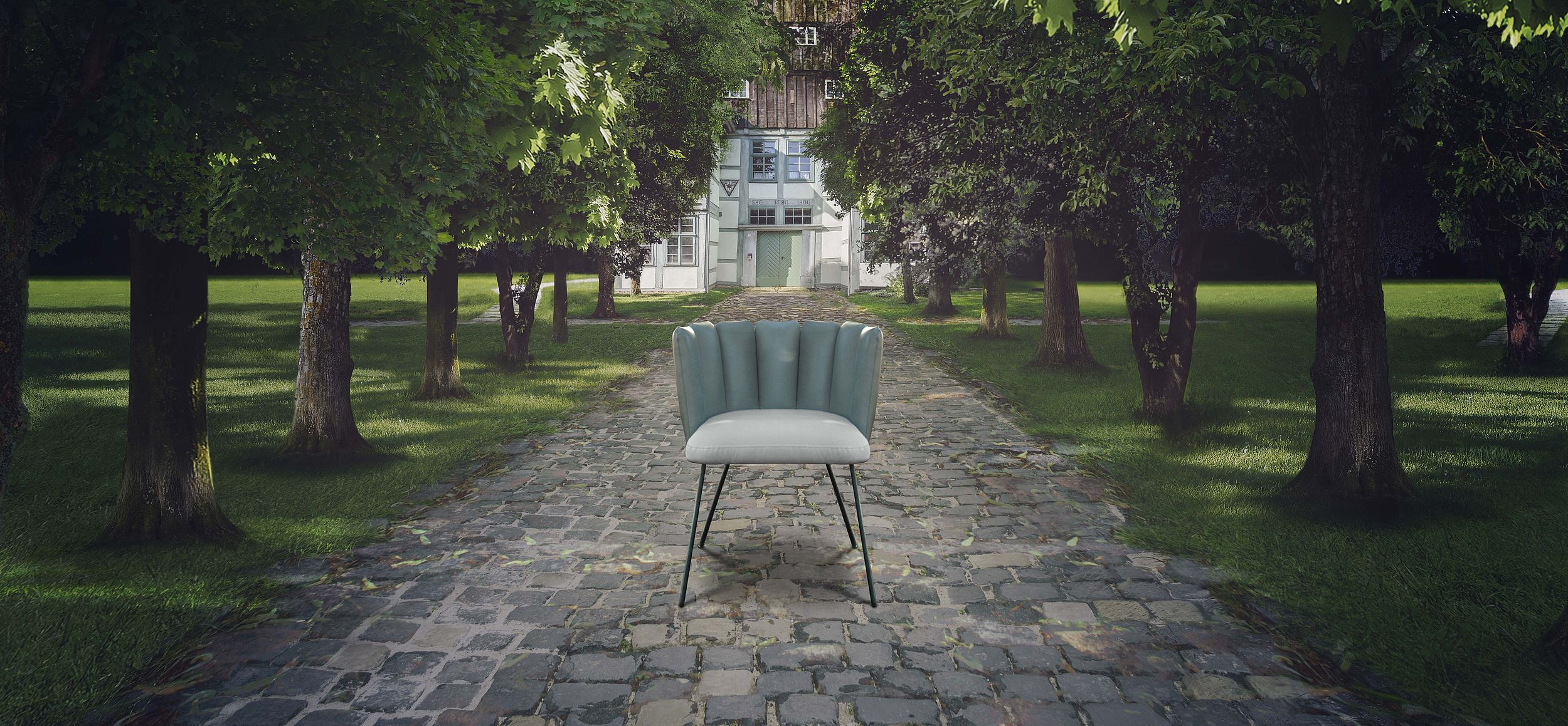 Gaia armchair by Monica Armani for KFF